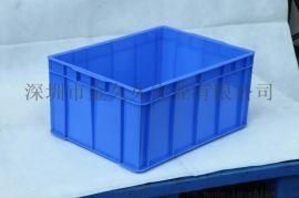供应北京塑料箱大号斜插式塑胶箱物流箱直销全国