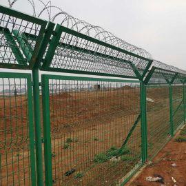 机场场地围界护栏 2.5米Y型柱机场围栏网