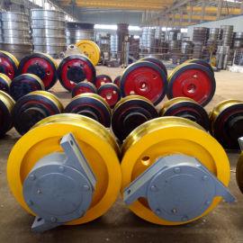 高温淬火调质型车轮组 小车运行单边主动角箱车轮
