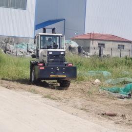 4吨柴油全新越野叉车 四驱多功能4吨小型物流搬运车