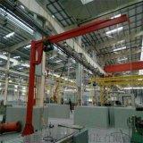 仓库码头吊运货物3吨懸臂吊 定柱式懸臂單梁起重機