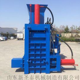 云南牛羊青储饲料卧式打包机 液压全自动方捆压块机