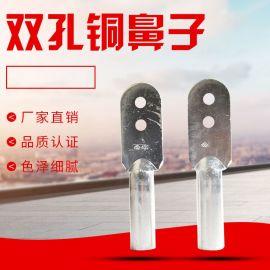 电缆铜线鼻子双孔 DTS-240平方双铜孔鼻子