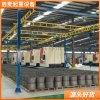刚性kbk组合起重机系统汽车制造厂用小型行吊系统