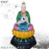 十二  彩绘佛像 无生  极彩雕像 送子娘娘神像厂