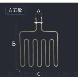 不锈钢桑拿炉直插式斜式发热管电热加热汗蒸管丝