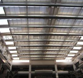 电动FTS天棚帘, 阳光房遮阳顶帘,室内外智能遮阳