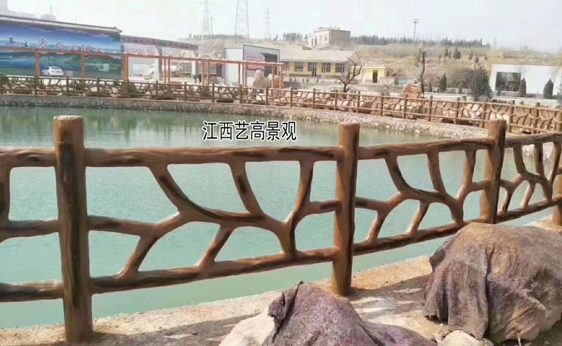 福建龙岩武平县生态水系仿木栏杆建设,泉州水泥仿木围栏招标项目