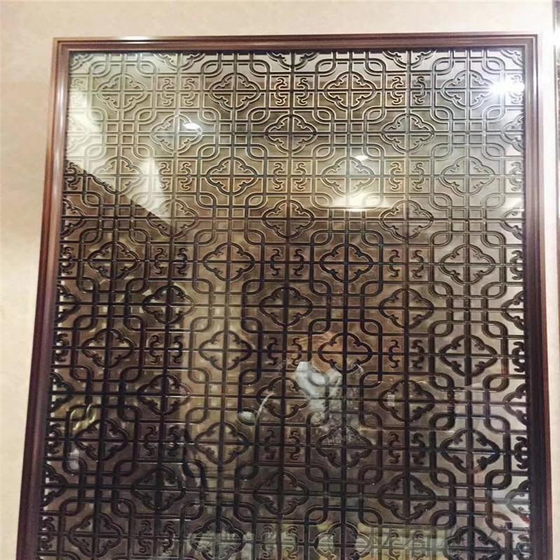加工仿古铝窗花-铝合金木纹铝合金窗花-铝窗花工厂