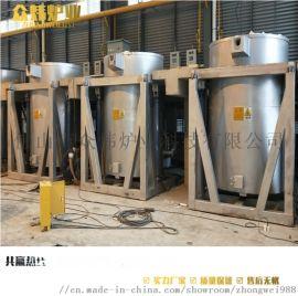 天然气熔铝炉压铸熔炉铝合金熔化炉