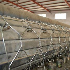 堤坝防护格宾网 防洪六角网铅丝石笼网 富海厂家供应