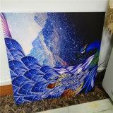 背景墙壁画喷绘铝板 3d喷绘铝打印厂家