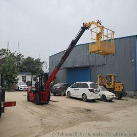 直臂叉车吊机 3.5吨叉车飞臂吊 小型飞臂吊