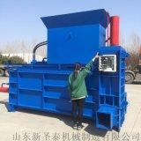 廠家直銷養殖場青儲液壓打包機 臥式套袋壓塊機