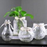北歐水培花瓶透明花器百合富貴竹滿天星乾花小插花瓶