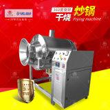 電加熱乾燒炒鍋 不鏽鋼滾筒混合機 牛肉乾食品攪拌機