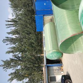 定制污水改造卧式水处理罐玻璃钢蓄水罐