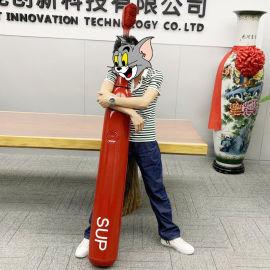 定制创意个性红色超大巨型sup电动牙刷模型恶搞
