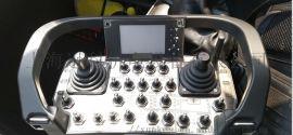 agv小车遥控器    模拟量开关量AGV小车无线遥控器 AGV小车无线遥控器连接PLC控制功能设计   使能式AGV小车遥控器