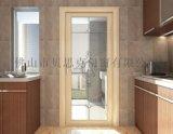 貝思克門窗供應   別墅廚房室內防潮鋁合金平開門