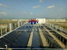 酒店热水工程太阳能配空气能热水工程