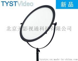 天影视通360度旋转补光灯LED摄影灯圆形灯柔光灯