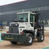 现货新款四驱内燃叉车 3.5吨柴油搬运越野叉车售价