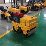 山東生產小型手扶600雙鋼輪風冷壓路機 捷克壓實機