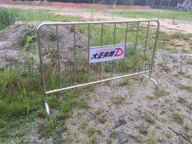 厂家现货不锈钢护栏可移动金属铁马安全隔离临时护栏