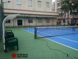标准网球场造价是多少?塑胶丙烯酸网球场地施工