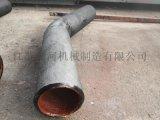 黑龙江耐磨管道耐磨料管道 耐磨管道定制厂家江河机械