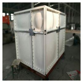 钟祥简易玻璃钢水箱 混合水箱生产厂家