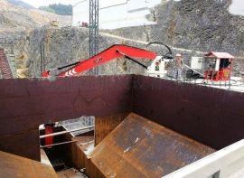 矿业多用途固定式节能电动液压破碎机