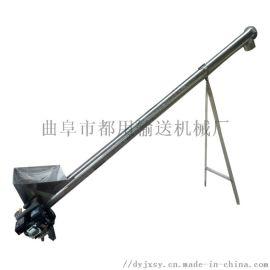 煤灰上料机 u型螺旋输送机 六九重工 垂直绞龙提升