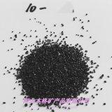 20-40目耐磨黑色石英砂 建築材料透水磚用亮黑砂