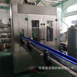 全自动啤酒灌装机精酿啤酒灌装设备玻璃瓶啤酒灌装生产线厂家直销
