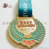 北京森林马拉松奖牌定制 古红铜方形奖牌制作厂家