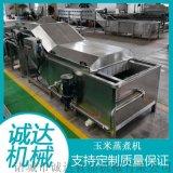 玉米蒸煮機,即食玉米加工機,速凍玉米加工設備