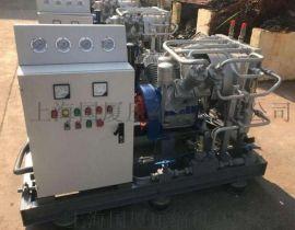 柴油高压空气压缩机_350公斤煤气管道试压空压机