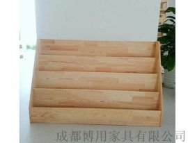 厂家直供成都幼儿园书架 成都实木儿童书架定制