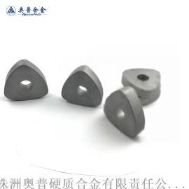 湖南株洲硬质合金工厂定制抬包清理机三角刀片