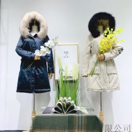 江苏品牌艾零度2019冬季新款女装 品牌折扣 时尚