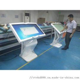 42寸透明屏电脑广告机 智能触摸广告机 深圳工厂