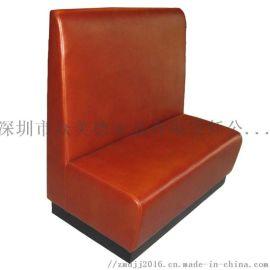 餐饮店卡座沙发,定制茶餐厅沙发,火锅店卡位沙发厂