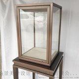 不鏽鋼玻璃珠寶展櫃 博物館展櫃 翡翠玉器展櫃