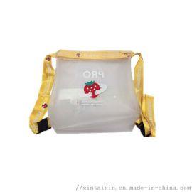 精品透明防水双肩背包