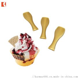 一次性塑料冰淇淋勺魚尾勺