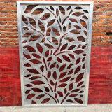 火鍋店背景牆雕刻鋁板 客房玄關隔斷雕刻鋁單板