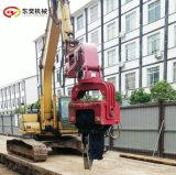 250打樁振動錘 拉伸鋼板樁挖機打樁錘