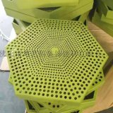 六边形穿孔铝单板 背景墙造型穿孔